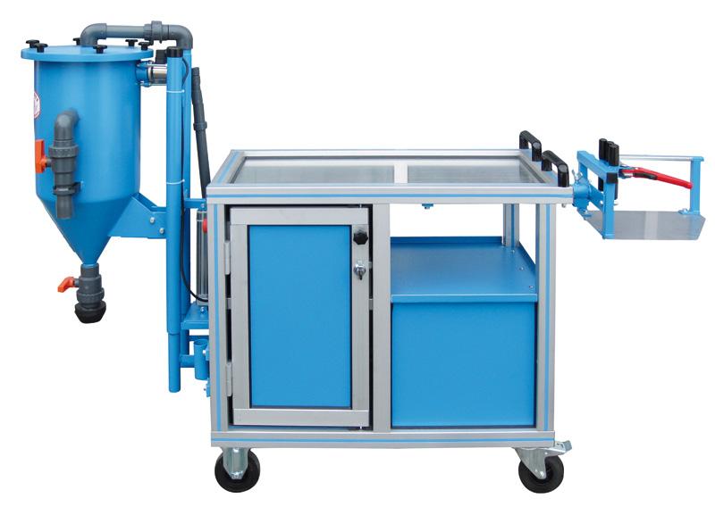 Carro taller - WWZ-EKWN - EMVAK – FRITZ EMDE, S.L. Fabricación · Máquinas · Sistemas de vacío