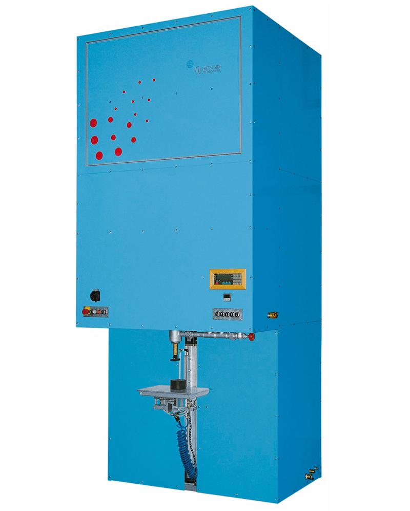 Pulversaugmaschine DSM - FRITZ EMDE - Fabrikation von Maschinen und Vakuumanlagen