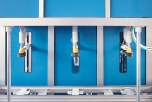 Pulverumfüllmaschine AMK-500 TRIO - FRITZ EMDE - Fabrikation von Maschinen und Vakuumanlagen