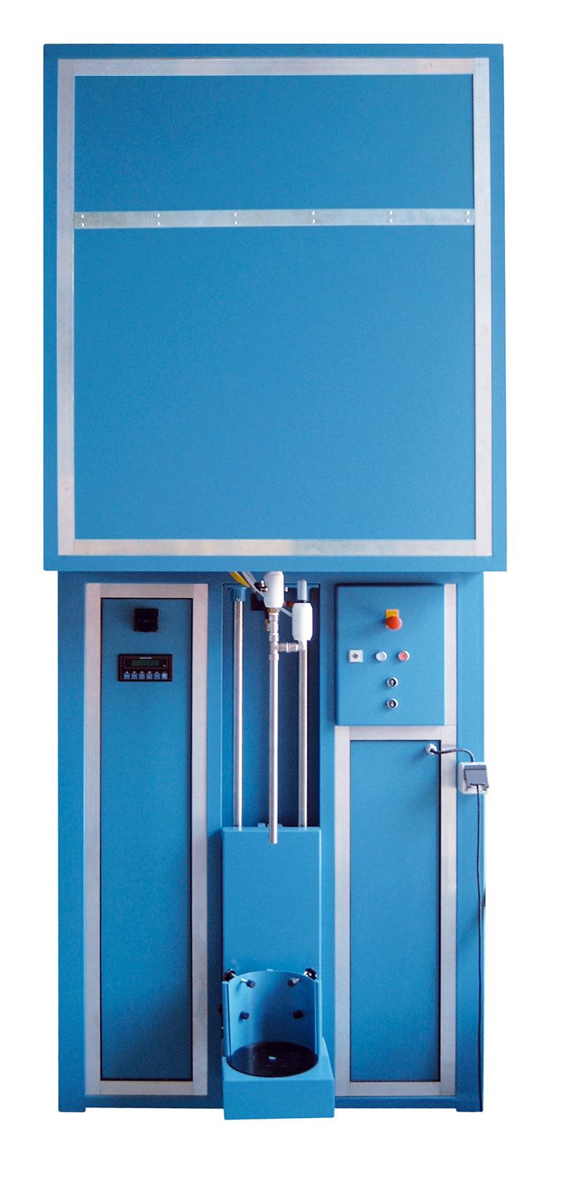 Schaumfüllanlage AFF - FRITZ EMDE - Fabrikation von Maschinen und Vakuumanlagen