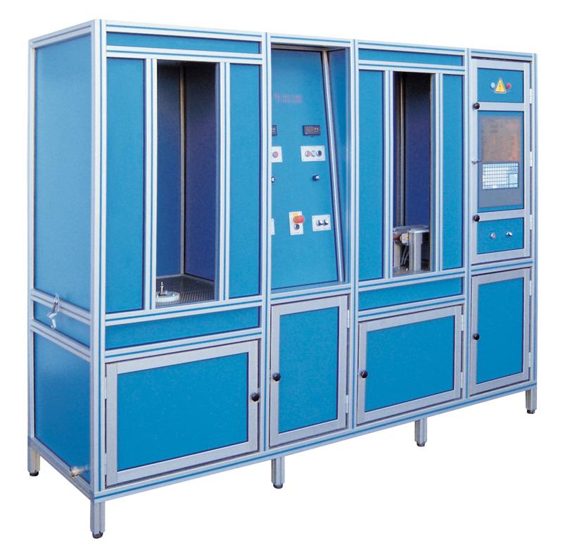 Hochdruck-Behälterprüfanlage HD1+1 - FRITZ EMDE - Fabrikation von Maschinen und Vakuumanlagen