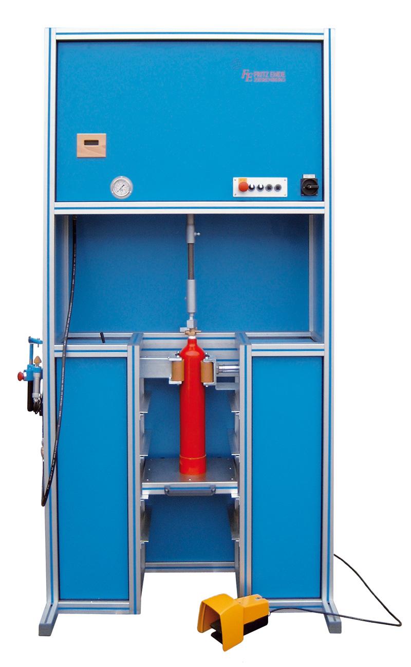 Ventilanlage - EA-120 - FRITZ EMDE - Fabrikation von Maschinen und Vakuumanlagen