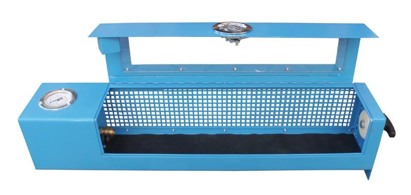 Schlauchprüfgerät S-SV - FRITZ EMDE - Fabrikation von Maschinen und Vakuumanlagen