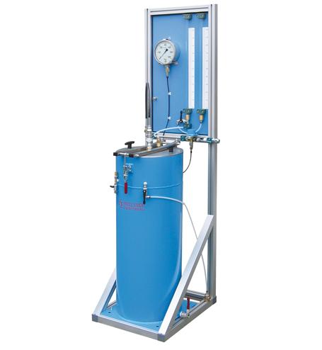 Hochdruck-Behälterprüfanlage HD-CFK-1 und HD-CFK-1-F - FRITZ EMDE - Fabrikation von Maschinen und Vakuumanlagen