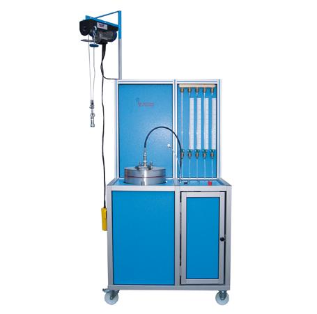 Hochdruck-Behälterprüfanlage HD-TA-CFK - FRITZ EMDE - Fabrikation von Maschinen und Vakuumanlagen