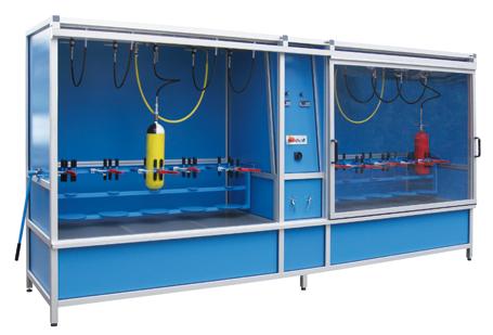 Hochdruck-Behälterprüfanlage - HD-ND5+5 - FRITZ EMDE - Fabrikation von Maschinen und Vakuumanlagen