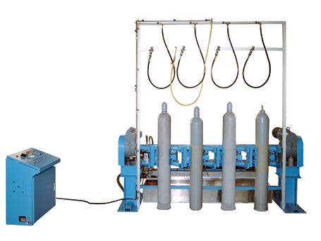 Prueba hindráulica de alta y baja presión - VOLTEADORA IV - EMVAK – FRITZ EMDE, S.L. Fabricación · Máquinas · Sistemas de vacío