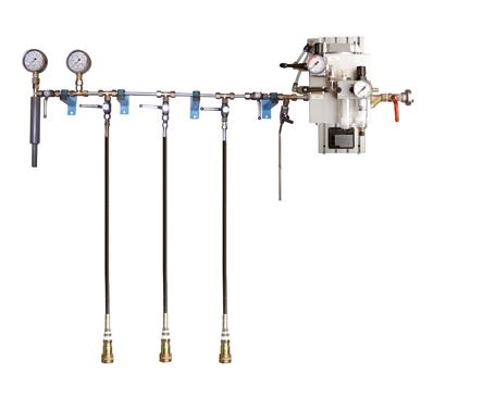 Hochdruck-Behälterprüfanlage HND-W-3 - FRITZ EMDE - Fabrikation von Maschinen und Vakuumanlagen
