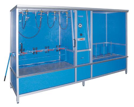 Prueba hindráulica de alta y baja presión - ND-TR4 - EMVAK – FRITZ EMDE, S.L. Fabricación · Máquinas · Sistemas de vacío