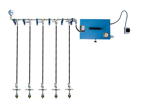 Niederdruck-Behälterprüfanlage ND-W-5 - FRITZ EMDE - Fabrikation von Maschinen und Vakuumanlagen
