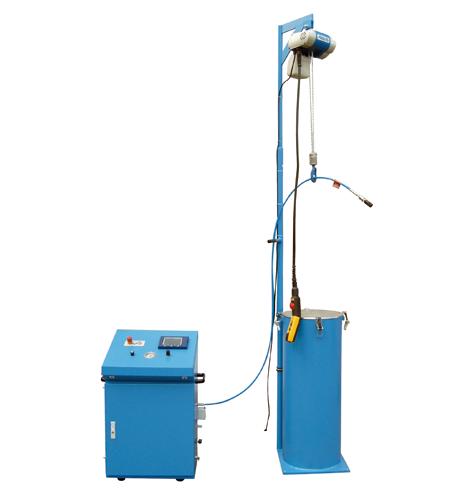 Hochdruck-Behälterprüfanlage HD-BERST - FRITZ EMDE - Fabrikation von Maschinen und Vakuumanlagen