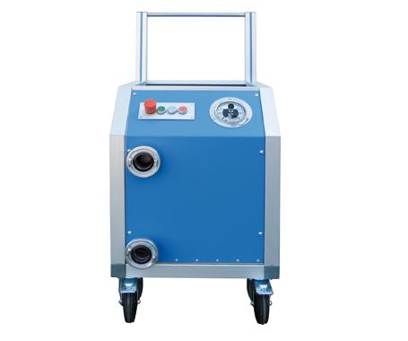 Prueba hindráulica de alta y baja presión - WHP-TR-mano - EMVAK – FRITZ EMDE, S.L. Fabricación · Máquinas · Sistemas de vacío