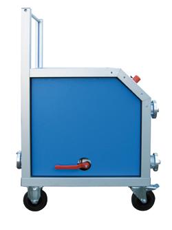 Hochdruck-Behälterprüfanlage, Schlauchprüfgerät WHP-TR-mano - FRITZ EMDE - Fabrikation von Maschinen und Vakuumanlagen