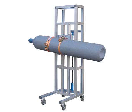 Prueba hindráulica de alta y baja presión - Volteadora FSV-A - EMVAK – FRITZ EMDE, S.L. Fabricación · Máquinas · Sistemas de vacío