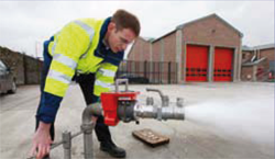Hochdruck-Behälterprüfanlage, Durchflussmesser F-250-D - FRITZ EMDE - Fabrikation von Maschinen und Vakuumanlagen