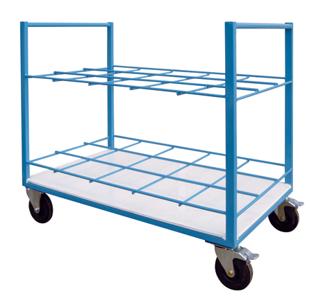 Frame Trolley for Cylinders RGW-15 and RGW-24 - FRITZ EMDE - Mechanical and vacuum engeneering
