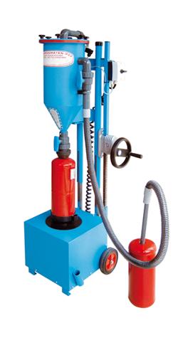 Pulversaugmaschine PFF-FLIPP-EK - FRITZ EMDE - Fabrikation von Maschinen und Vakuumanlagen
