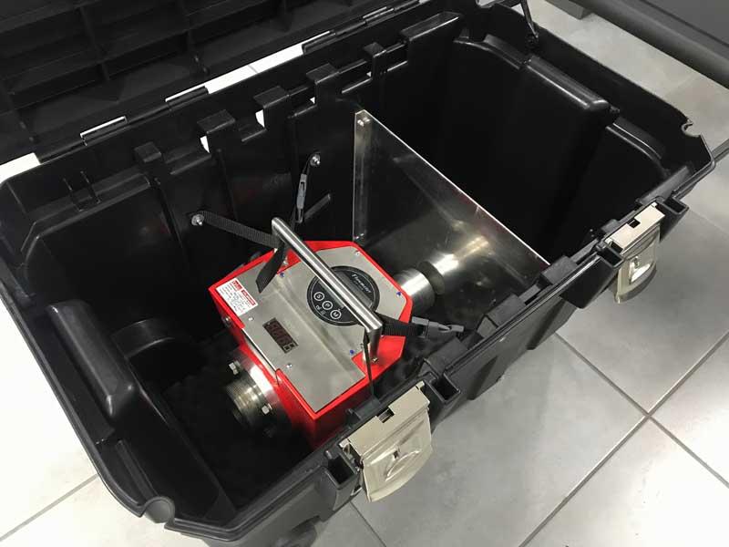 Transportkoffer-Durchflussmengenmessgeraet